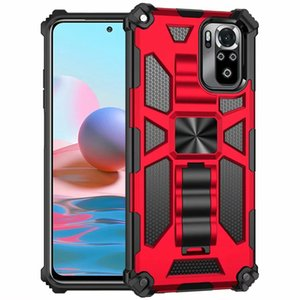 Funda Case for Note 10 Pro 9S 10S 8 9 Bracket Armor Shockproof Coque tective Phone Cover