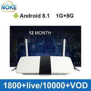 Kod D'Abonnement De 12 Mois Et Lecteur Multimédia Android Set Üstü Kutu Q1604 (1 + 8 GO) Pour L'Europe Franco-Arabe