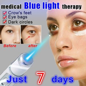 Medical Blue Light Therapy Varicose Veins Treatment Soft Scar Wrinkle Removal Treatment Acne Dark Circles Laser Massage PenRabin