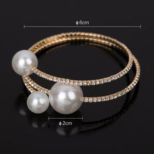 Pearl bracelet female With the crystal The adjustable bracelet Bracelet gift gold \silver for women 284 J2