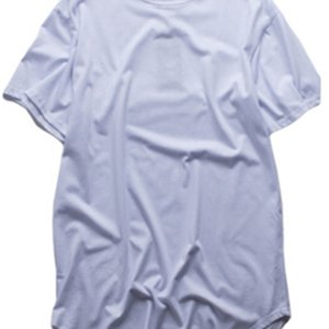 Fashion men extended t shirt longline hip hop tee shirts women swag clothes harajuku rock tshirt homme