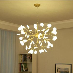 Ceiling Lights Modern Led Black Gold Lamparas De Techo Dining Living Room Bedroom Restaurant Lighting Fixture Art Lamp