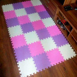 meiqicool baby EVA foam puzzle baby EVA Foam Play Puzzle Mat  18 or 24 lot Interlocking Exercise Tiles Floor Carpet Rug for Kid H0831