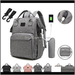 Nappy Backpack Mummy Large Capacity Bag Mom Multifunction Waterproof Outdoor Travel Diaper Bags For Baby Care Lj200811 Szpnq Aecd1
