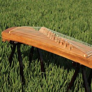 80cm 21-string Xiaozheng Half-Zheng Portable Guzheng