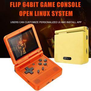 Bildschirm Erwachsene Kinder Flip Handheld Game Console LCD Display Mini Tragbare Kinder Geschenk 3d Spieler