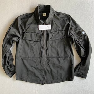 Metal nylon men jacket casual CP hoodies outdoor windbreak black army green size M-XXL