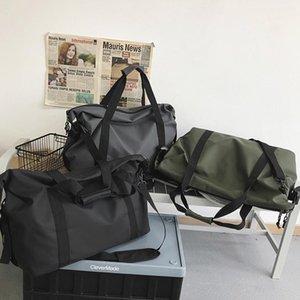 Duffel Bags Designer Fitness Travel Tote Unisex Fashionable Large-Capacity Men Simple Black Sports Women's Shoulder Bag 2021