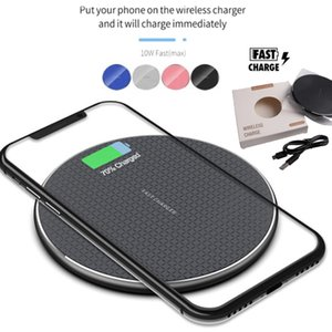 10W Qi Wireless Charger For iPhone 12 11 Pro Xs Max X Xr Fast Charging Pad