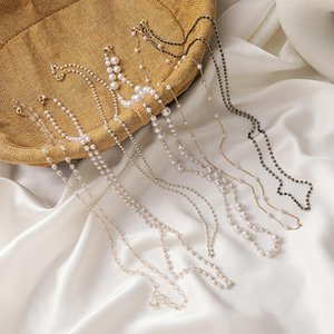 Sunglasses Frames 73cm Fashion Chain Acrylic Pearl Eyeglass Cord Holder Necklace Glasses Strap Rope Lanyard