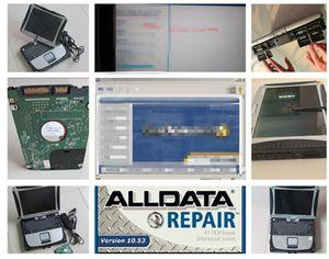 ALLDATA Tüm Veri Oto Tamir M..Chell ATSG 3'te 2 TB HDD'de 3'ü Panasonic CF19 Laptop 4 GB