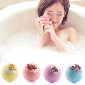 Bubble Wather Bomb с сухим цветом взрыв натуральные цветочные эфирные масла Ванны Ванны Было проживает пароварки для душа для ванны Глубокая морская соль GWD6030