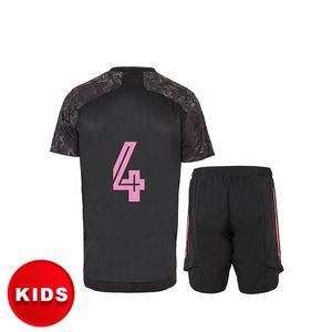 kids clothes soccer jersey football shirt HAZARD SERGIO RAMOS BENZEMA ASENSIO camiseta 20 21 third custom name HUMANRACE baby chothes