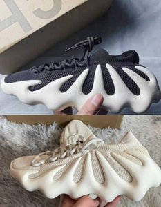 450 cloud white cream black kanye Running Shoes Mens Womens V2 Israfil Men Asriel Static Reflective sneakers with box size 36-45