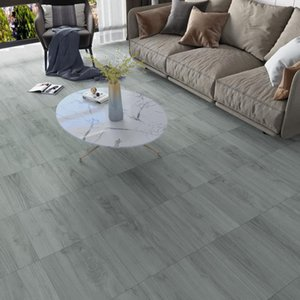Wallpapers Marble Wooden Floor Sticker Easy To Install Waterproof Self-adhesive Cement Durable Panels Wall Ground Tiles Decor