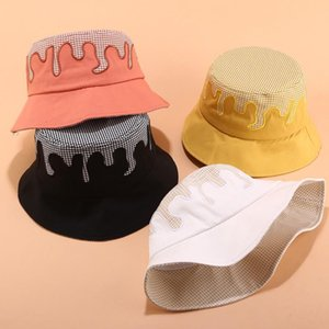 Stingy Brim Hats 여성 모자 여름 성인 남성과 모자 패션 야외 태양 여행 캐주얼 냄비 양동이 접이식 낚시