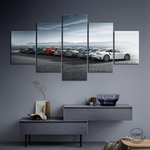 HD Printed Sports Painting on Room Decoration Print Luxury Car Poster Picture Canvas Wall Art Painting,Unframed Z1202 868C