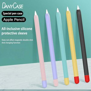 Soft Silicone Pencil Cases For iPad Tablet Touch Pen Stylus Protective Sleeve Cover Anti-lost For iPad Pencil Accessories