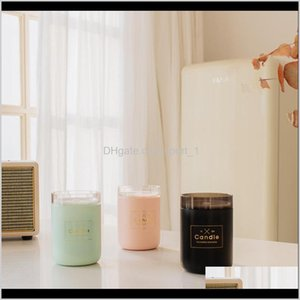 Oils Ultrasonic Air Humidifier Candle Romantic Soft Light Usb Essential Oil Diffusers Car Purifier Aroma Anion Mist Maker Cca11795 30P Xapb1