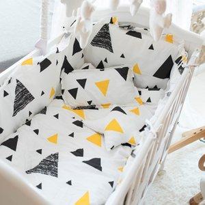 الأطفال السرير السرير المنتج أربعة أو خمسة ورقة مجموعة القطن الخالص الدفاع collide يمكن Unpick وغسل القطن الكامل وسادة الوفير 893 v2