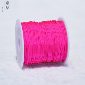 10Meters lot 0.8mm Nylon Cord Thread Chinese Knot Macrame Cord Bracelet Braided String DIY Tassels Beading String Thread 1384 Q2