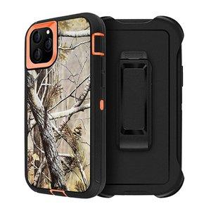LX Brand Camo Heavy Duty Cases For iPhone 12 Mini 11 Pro X XR Xs Max 6 6S 7 8 Plus ForSamsung S21 S20 Ultra + S10e S10 S9 S8 S7 edge Note 20