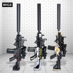 M416 Elettrico Automatico Rifle Acqua Bullet Bb Bb Bb Bomb Gel Sniper Giocattolo Pistole Pistole Arma Plastica Modello per ragazzi Adulti Adulti Ripresa regalo