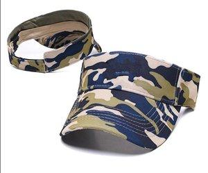 Wholesale Fashion Designer Golf Sun Visor Sunvisor Party Hats Baseball Cap Sports Sunscreen Hat Tennis Beach Elastic Empty Top Caps