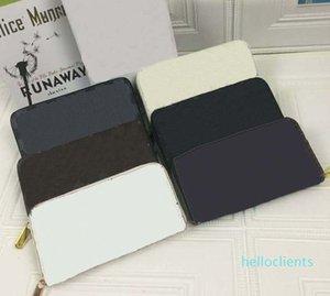 Wallet Mono Leather Canvas 12 Credit Card Slots Long Zipper Wallets Card Holder Purse Women Zip Clutches Bag