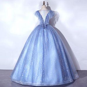 luxury vintage ruffled squined stars fairy dream veil Medieval dress Renaissance gown princess Victorian venice Marie Antoinett Belle Ball