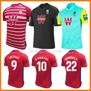 2021 Granada Fussball Trikots 20 21 Home Away Dritter Soldado Herrera Antonio Puertas Vadillo Maillots Camiseta Camisa de Futebol Jersey Football Hemden