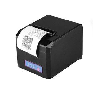 Printers Thermal Receipt Printer Portable USB Desktop 80mm Compatiable With ESC  MJ8220