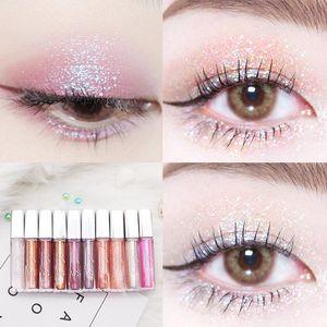 Eye Shadow Diamond Liquid Eyeshadow Nude Metal Shimmer Glow Glitter Single Makeup Pigment Accessorices Beauty Cosmetics
