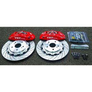 4 Piston Brake Kit with 330x28mm Disc Rotor Forged Caliper For ODYSSEY ELYSION 2012-2021 17 18