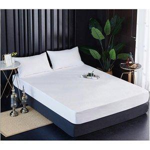 Sheets & Sets Meijuner Waterproof Mattress Protector Elastic Solid Color Bed Cover Super Soft Microfiber Sheet Set Breathable Wrinkle