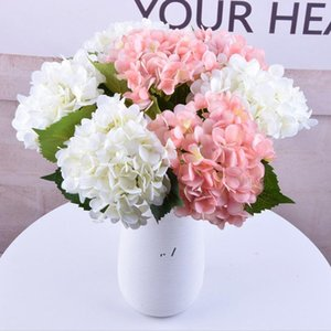 Artificial Hydrangea Flowers Ball Colorful Round Flower Balls Wedding Decoration Shopping Mall Festival Party Ornaments BWF10696