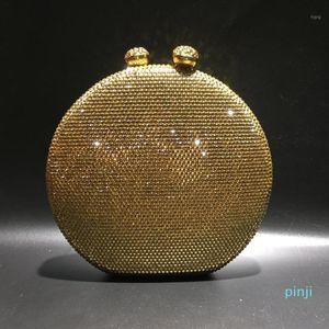Crystal diamond Clutch bags Red Clutch purse Evening Bag Formal Luxury crystal shoulder bags Woman Wedding purse pochette1