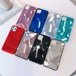 Diamond Phone Cases TPU+PC+Acrylic 3 In 1 Mobile Phones Case Cover For iPhone 12 Mini 11 Pro Max X XS XR 7 8 Plus Samsung S20Ultra S20FE S21 S21Ultra