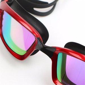 Nuevas gafas de natación de gafas de natación de gafas de gafas de cristal para hombres de cristal con estuche WMTEII