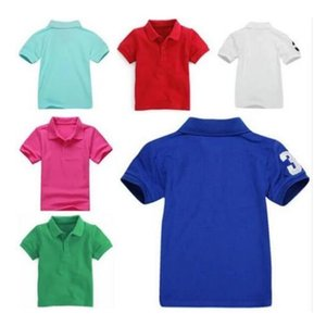 Kids Polo Clothes T Shirt Brand Children's Shirts Baby Boys Girls Designers Short Sleeves TShirts Embroidery Clothing