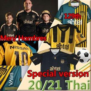 التايلاندية 2020 2020 2021 Club Atlético Peñarol Soccer Jersey Home New Home 129 Tommemorative Edition 20 21 Uruguay Penarol C.Rodriguez الرجال قميص كرة القدم