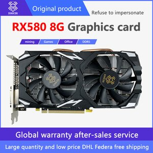 Xingke original authentic mining graphics card RX 580 8GB 256Bit 2048SP GDDR5 is suitable for gaming office AMD Radeon series Factory shipment DHLFederal Express 2