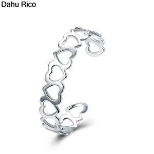 All Heart Corazon Coracao Love Cuff Bracelets Arm Bracelet Jonc Silver Color Unique De Marque Price Dahu Rico Bangles Bangle