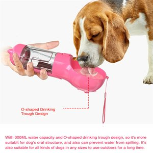 Portable pet Feeders small and medium-sized dog water Bowls travel feeder drinking bowl outdoor bottle pet's supplies