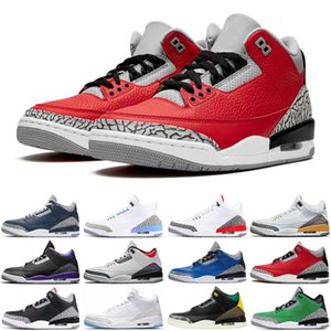 wholesale mens basketball shoes jumpman Midnight Navy Court Purple UNC cool grey Chicago men trainers sports sneakers size 7-13