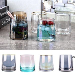 250ml Creative Wine Glasses Whiskey Glass Home Bar Supplies Colorful Phnom Penh Glass Cup 10 Style HWF10507