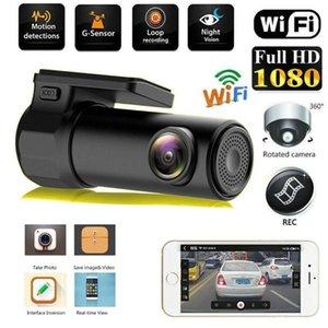 Full HD Wifi Car DVR Dash Camera Vehicle Video Recorder 170° Wide Angle Wireless Cam DVR Dash Styling DVRs