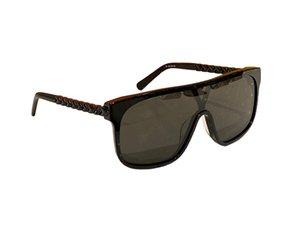Sunglasses For Women Men Summer style Anti-Ultraviolet 2178 Retro Plate Plank full frame fashion Eyeglasses Random Box