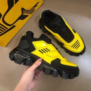 Designe Mens Cloudbust Thunder Sapatos Casuais Casual Sneakers Designer de Luxo Sneaker Sneaker Luz Borracha Sola Treinadores 3D Top Quality Top Quality Grande tamanho US10 com caixa