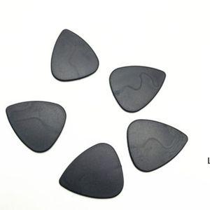 Sigara Aksesuarları Üçgen Siyah Plastik Polen Kıyasakları Için Herb Öğütücü Kürek Tabacco Gitar Pick DHD6202